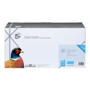 5 Star Compatible Laser Toner Cartridge Page Life 11000pp Cyan HP No. 648A CE261A Equivalent