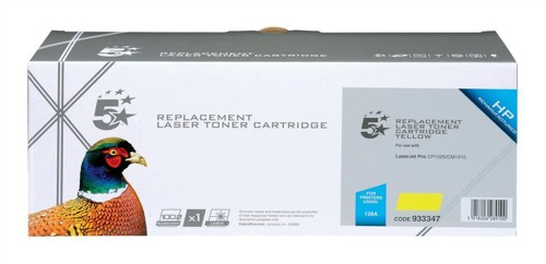 5 Star HP 128A Toner Yellow CE322A