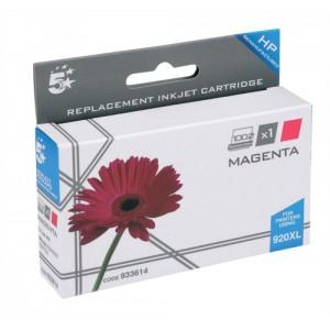 5 Star Compatible Inkjet Cartridge Page Life 700pp Magenta [HP No. 920XL CD973AE Alternative]