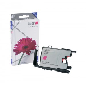 5 Star Compatible Inkjet Cartridge Page Life 600pp Magenta [Brother LC1240M Alternative]
