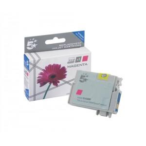 5 Star Compatible Inkjet Cartridge Capacity 7ml Magenta [Epson T12934011 Alternative]
