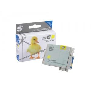 5 Star Compatible Inkjet Cartridge Capacity 7ml Yellow [Epson T12944011 Alternative]