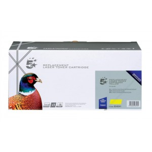 5 Star Compatible Laser Toner Cartridge Page Life 4000pp Yellow [Brother TN325Y Alternative]
