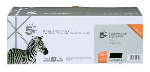 5 Star Compatible Laser Toner Cartridge Page Life 7200pp Black [Kyocera TK-170 Alternative]