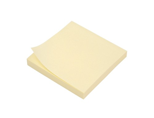5 Star Extra Sticky Notes 3x3 Yell Pk12