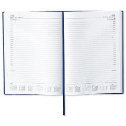 5 Star 2016 A4 Day A Page Appointment Diary Blue