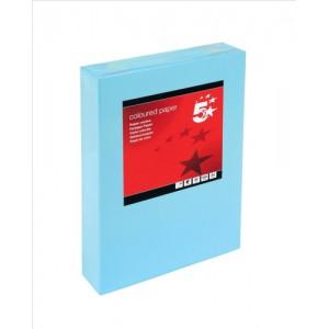 5 Star Tinted A4 80gsm Medium Blue Pk500