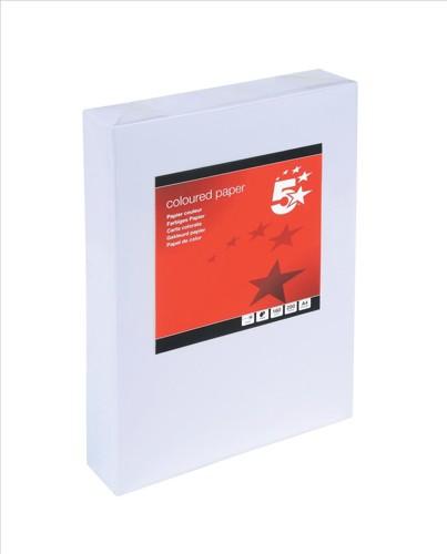 5 Star Card A4 160gsm White Pk250