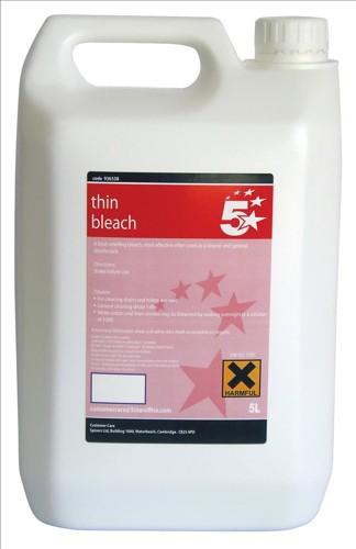 5 Star Thin Bleach 5 Litre