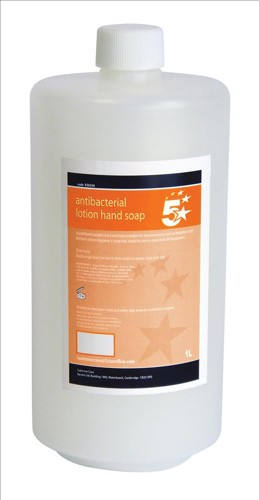 5 Star Anti-Bacterial hand Soap 1 Litre
