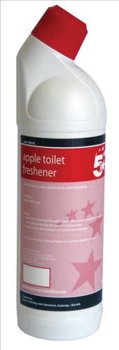 5 Star Apple Toilet Freshener 1 Litre