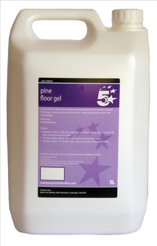 5 Star Pine Floor Gel 5 Litre