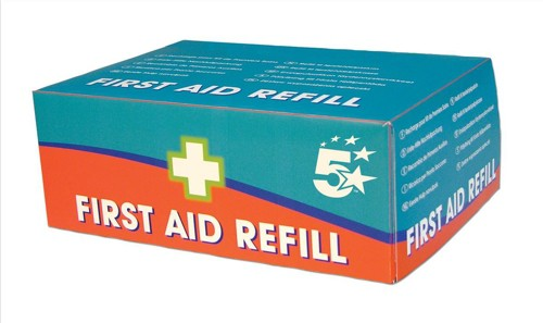 5 Star Refill For HS1 10 Person First-Aid Kit
