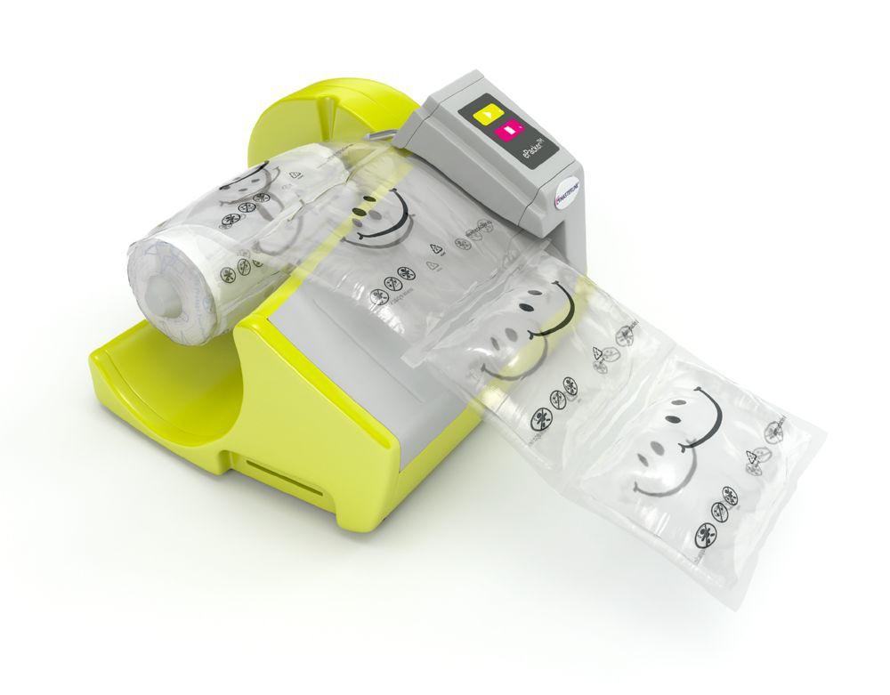 Epacker Air Cushion Starter Kit Machine With 1 Roll Of Film