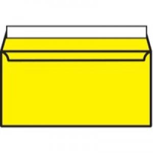 Banana Yellow DL Wallet P/Seal Env Pk250