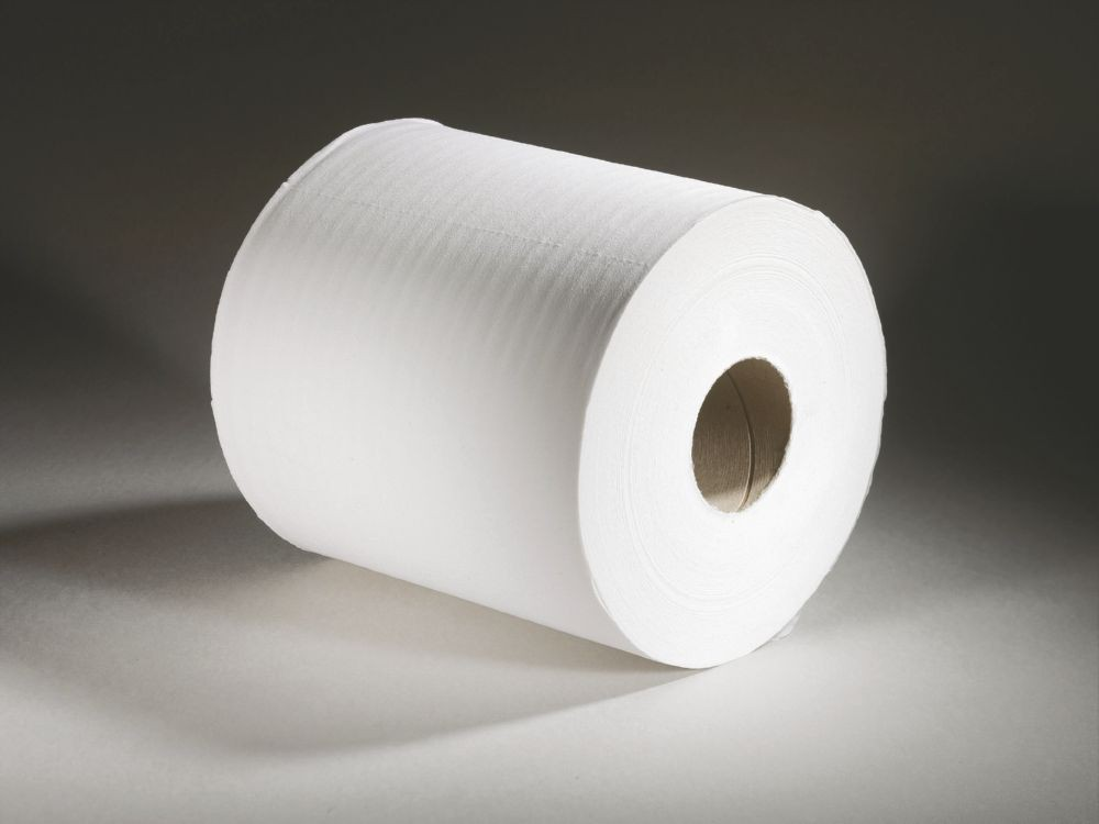 Toilet Rolls 2Ply White 200 Sheets Pack 4 x 10