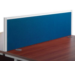 1200mm Deluxe Fabric Rear Screen Blue