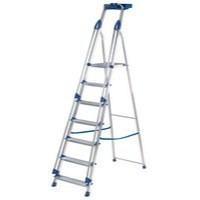 Abru Blue Seal 7-Tread Professional Aluminium Step Ladder 10507