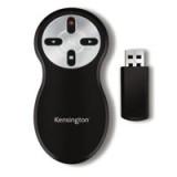 Kensington Remote Control for Presentations Wireless USB Receiver Range 20m Ref 33374EU