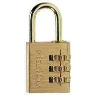 Masterlock Combination Padlock Brass 30mm 630EURD