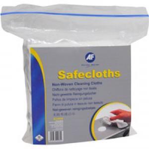 AF Safe Cloths Non-Woven Large Pack of 50 ASCH050