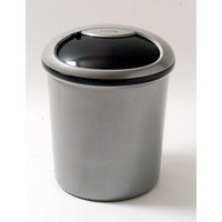 Addis Smart Round Bin Base 31 Litre Metallic 503581