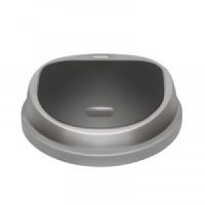 Addis 50 Litre Press Top Bin Metallic 512834