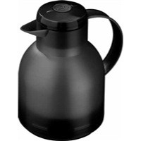 Addis Samba Centre-Press Vacuum Jug 1 Litre Translucent Black 504235
