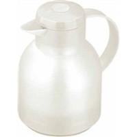 Addis Samba Centre-Press Vacuum Jug 1 Litre Translucent White 504687