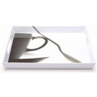 Addis Serving Tray Cup Design White 506377