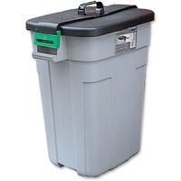 Addis Rectangular Bin 90 Litre Grey