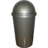 Addis Bullet Bin 50 Litre Black