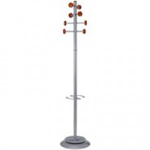 Alba Timby Coat Stand Metal/Wood