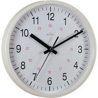 Acctim Metro 12 inch Wall Clock White 21162
