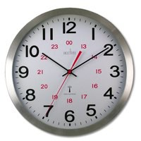 Acctim Century RC Aluminium Wall Clock 74457