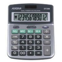 Aurora Semi-Desktop Calculator 12-digit DT398