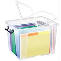 Strata Smart Box 40 Litre Clear HW674