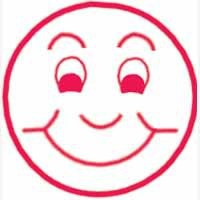Artline X-Stamper Xclamations Smiling Face X11736