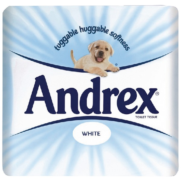 Andrex Toilet Roll White Pack of 4x10 HJ412