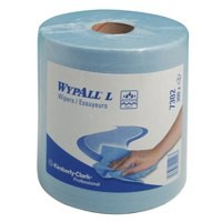 Image for Wypall Wipers Centre Feed Roll 2-Ply Blue 7302
