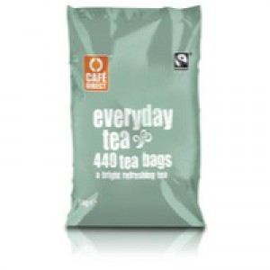 Tea Direct FairTrade One Cup Tea Bag Pack of 440