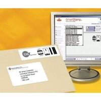 Avery Inkjet Smart Stamp Online Postage Label Bulk 69x38mm Pack of 25 Sheets White J5101-25