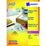 Avery Blockout Shipping Label 176x126mm Pack of 40 L7980-40