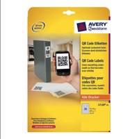 Avery QR Code Label Square 35x35mm L7120-25