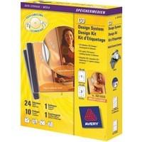 Avery AfterBurner CD/DVD Label System AB1800