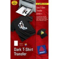 Avery Dark T-Shirt Transfer Pack of 4 C9406-4