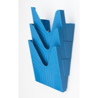Avery Original Literature Display File Blue Pack of 3 144-3BLUE