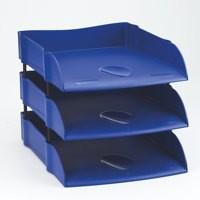 Avery Desktop Letter Tray Blue DR100