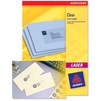 Laser Label Mini 55x12.17mm Pk25 L7552