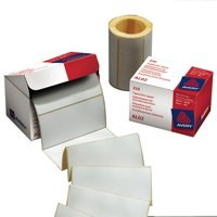 Avery Address Label Roll 250 89x37mm White AL02
